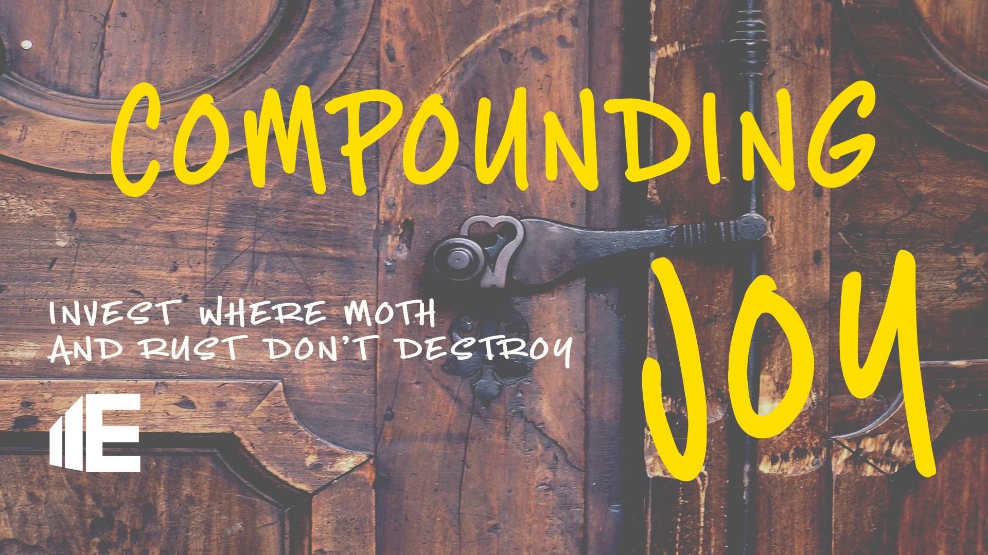Compounding Joy
